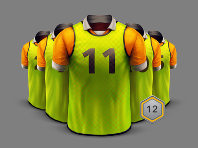 Top Eleven / Training / Select Players training player soccer icon