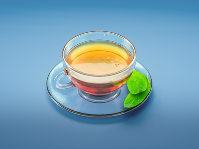 #stacemodajedemo Green Tea render modo cgi 3d illustration food cup stacemodajedemo tea