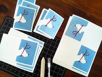 Titibuffington letterpress xmas2013