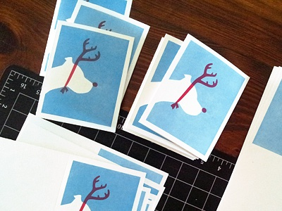 Letterpress xmas2013
