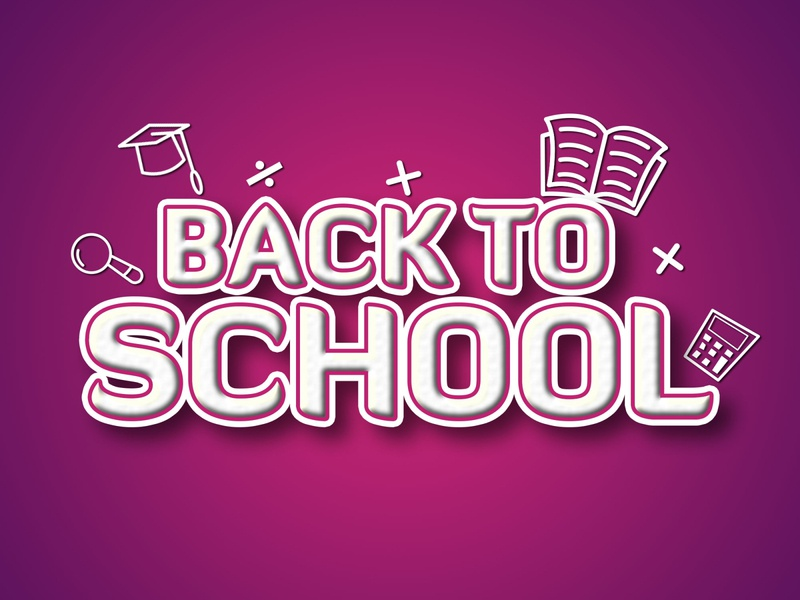 BACK TO SCHOOL TEXT EFFECT lettering backgrounds back to school text effect back to school text effect text effects typography back to school back to the future