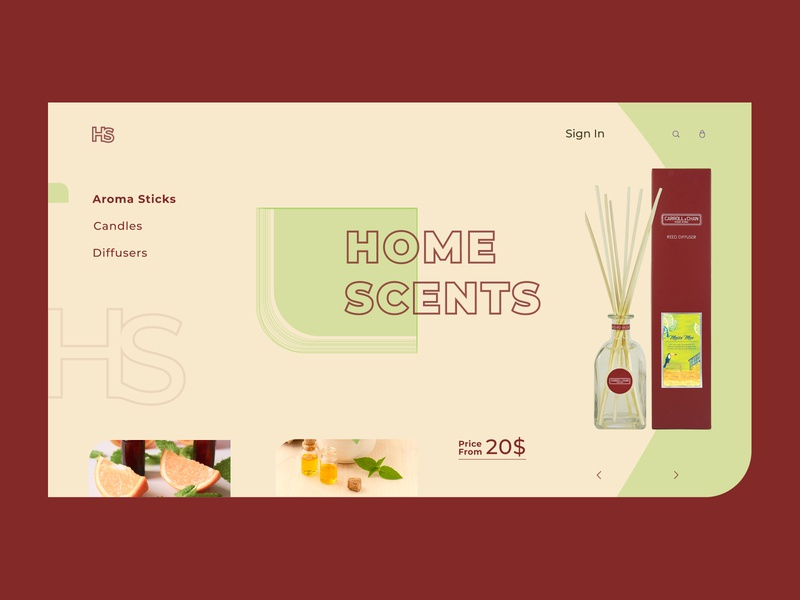 HOME SKENTS website minimal logo web typography design