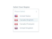 Region Select