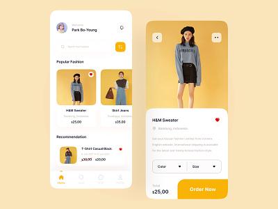 Fashion Store Mobile App e-commerce design online shop e-commerce e-commerce shop dailly mobile design mobile uidesign uiuxdesign ui design uiux