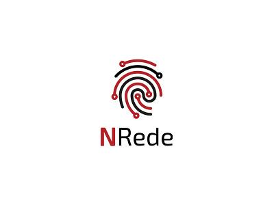 NREDE Logtype branding agency logo digital vector galicia illustration branding