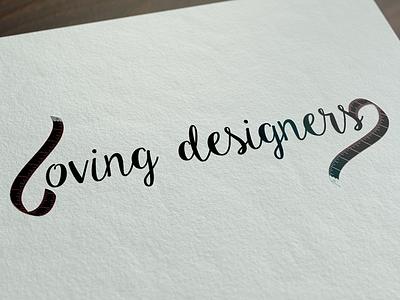 Loving Designers Logotype young fashion loving logo logotype galicia vector design