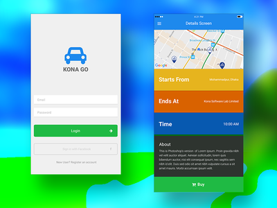 Kona GO transport tourism travel go kona payment nfc wallet mobile