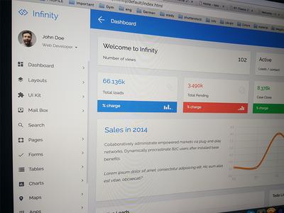 Infinity - Responsive Web App Kit