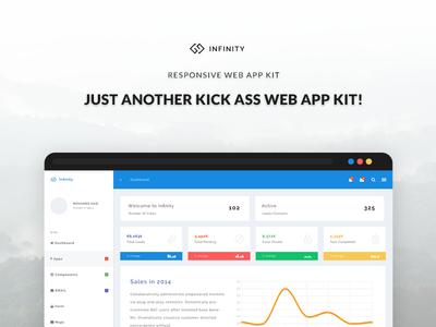 Infinity - Responsive Web App Kit #2