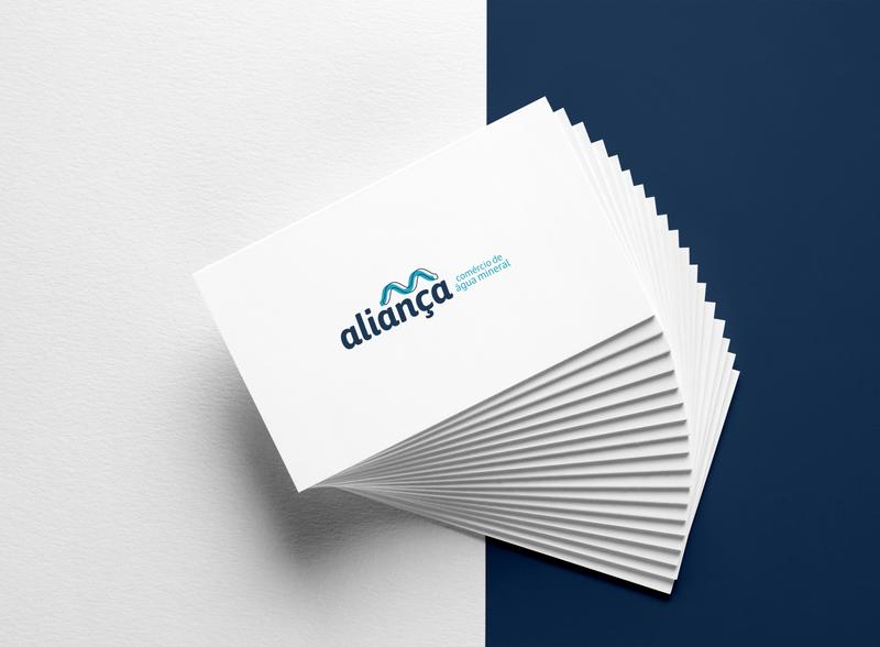 Aliança logotype visual identity