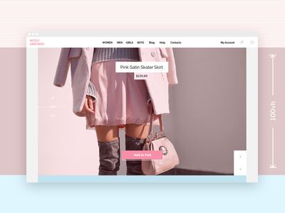 Front Page  store simple clean ui interface woocommerce wordpress page front