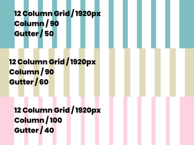 PSD and Figma Grid Set for Web Projects