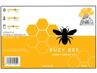 Nature Brewing Co. Buzy Bee Honey Amber Ale