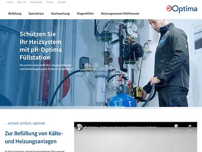 pH Optima Webdesign logodesign wordpress web design