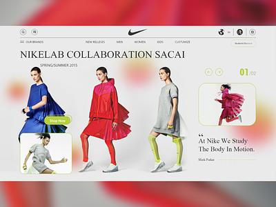 UI Design Concept web ui web xd minimal gradient color redesign landing page e-commerce e-shop fashion design fashion brand e-commerce shop online shopping fashion webdesign website ui ux online store online shop