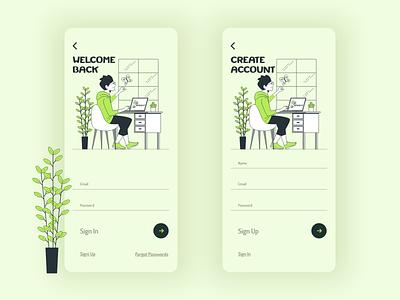Sign Up page, modal, form for #DailyUI application design figma xd design xd vector ux ui design illustrator illustraion dayli challenge dayliui challenge signup sign in iphone 12 pro apple app