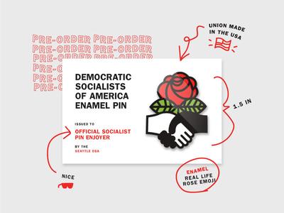 DSA pin 🌹