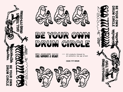 BYODC Pasteboard surf high vibration new age breathing culture yoga namaste hippy shit be your own drum circle