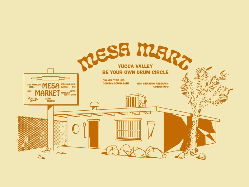BYODC x Mesa Mart joshua tree yucca breathing culture yoga high vibration new age hippy shit namaste be your own drum circle