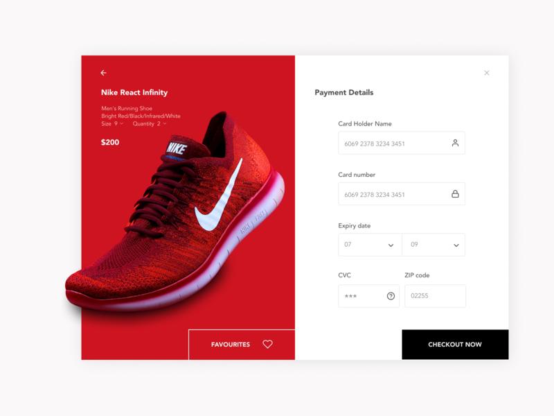 Checkuot screen for shoe brand adidas webapp smartphone uiux nike shoe fashion payment checkout page dailyui uidesign app website dribble branding ux clean minimal design ui