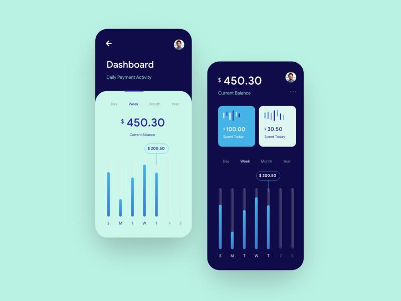 Finance App inspiration finance xd figma app design dailyui uidesign app website dribble branding clean ux minimal design ui