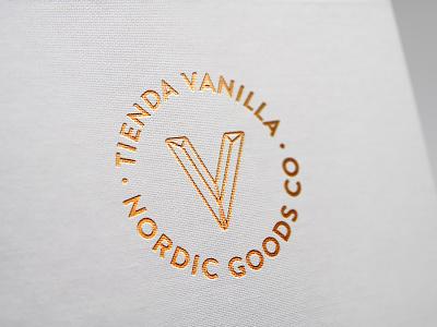 Tienda Vanilla Branding typography logo design branding