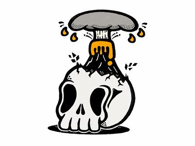 Mind Blown illustrator branding tshirtdesign tshirt vector logo illustration design