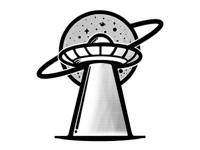 UFO illustrator branding tshirtdesign tshirt vector logo illustration design