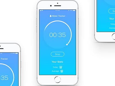 Countdown Timer - Daily UI #014 dailyui iphone timer countdown