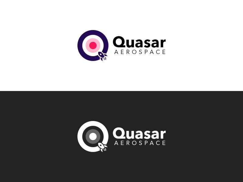 Quasar Aerospace Logo - Daily Logo #1 logo design aerospace daily logo quasar