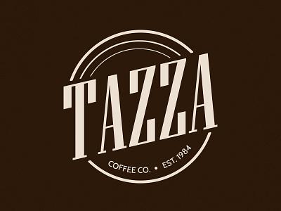 Tazza Coffee - Daily Logo #6 challenge coffee tazza daily logo