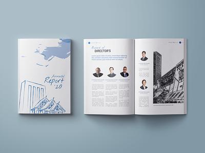 """Book Mockup -""""Annual Report 2020"""" bookcoverdesign bookdesign"""