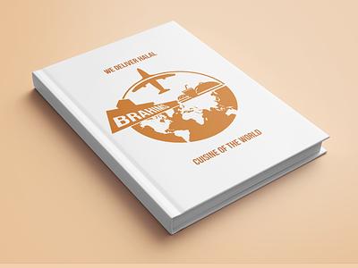 """Book Mockup -""""We Delivery Halal Cuisine of The World"""" bookcover bookdesign illustration bookcoverdesign"""