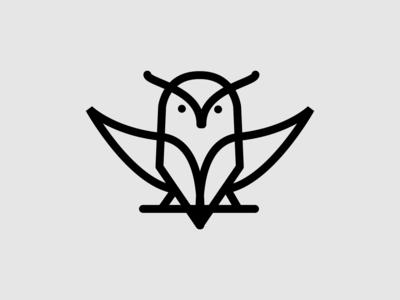 owl monoline logo