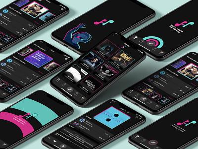 Music - App   IOS   Ux/Ui firstshot shot app music player invite appdesign musicapp android design iosdesign ios uiux uxui ui ux mobileapp music