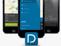 Chauffeur app and icon