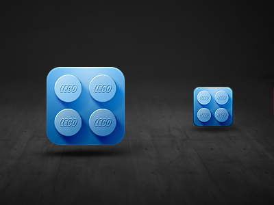LEGO iPhone icon lego iphone icon