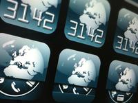 Danish Bank app icon iterations