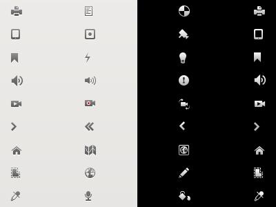 Milestone icons