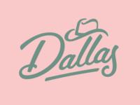 Dallas Lettering