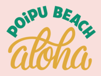 Aloha from Poipu Beach