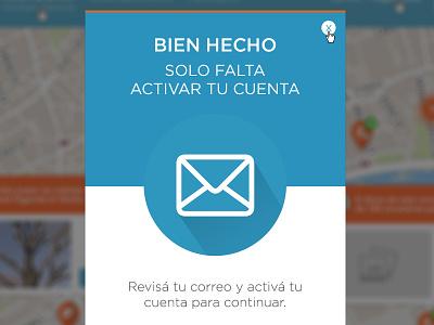 Pop Up Barrios Activos modal pop up web barrios activos ux ui