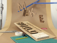 Make / Build – Poster Process