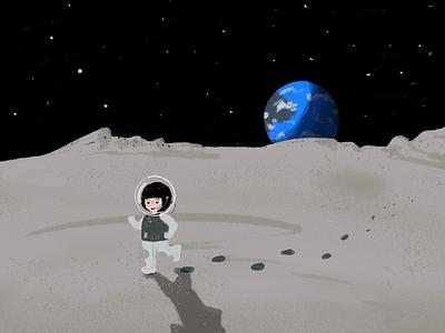 月球漫步Walk on the moon