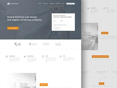 Connect Digital Website web design agency marketing website