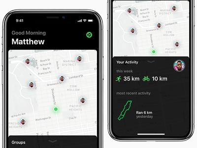 iOS 11 Activity App - WIP