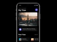 Trips Screen - iOS