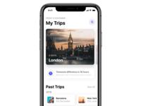 Trips Screen Light - iOS