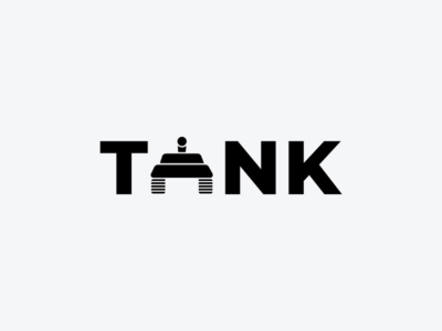 Tank art minimal logodesign icon logo design monogram logo wordmark branding brand symbol mark logotype