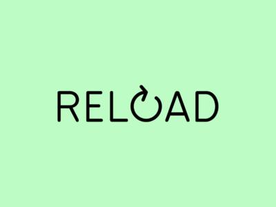 Reload reload art minimal logodesign icon logo design monogram logo wordmark branding brand symbol mark logotype